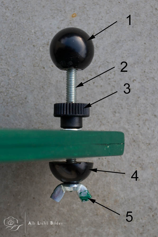 DIY Nivellierung für Bodenstativ